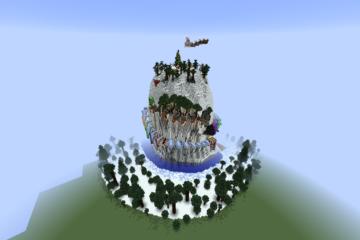 Minecraft Map Event  [กิจกรรม พิชิตยอดเขาหิมะ]