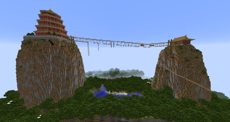 Minecraft Map Event  [กิจกรรม ล่องแก่ง]