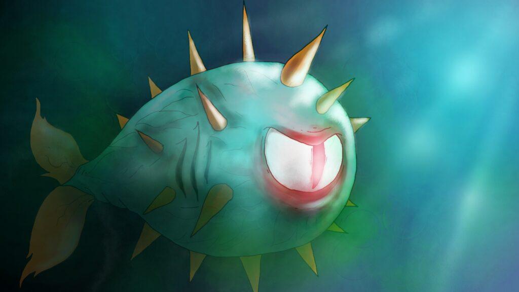The GladianFish In Deep Sea