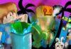 Wallpaper Minecraft : Songkran Festival