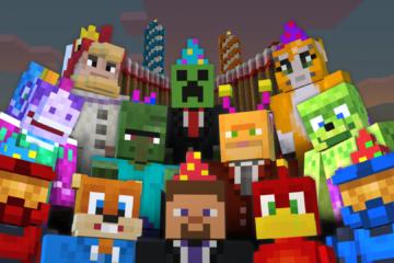 ฉลองครบรอบ 3 ปี Minecraft: Xbox 360 !!