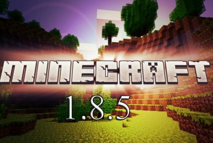 download minecraft 1.8.5 ดาวน์โหลด มายคราฟ 1.8.5