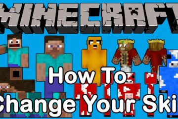 วิธีเปลี่ยน skin minecraft สำหรับไอดีแท้
