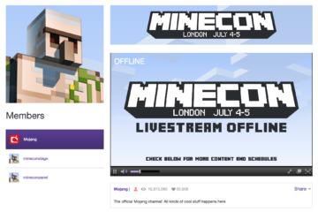 งาน Minecon 2015 เริ่มขึ้นแล้ว