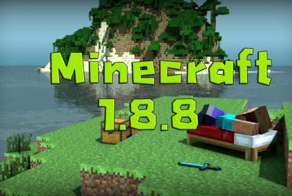 Minecraft 1.8.8 ปรับปรุงความเสถียรของเซิร์ฟเวอร์