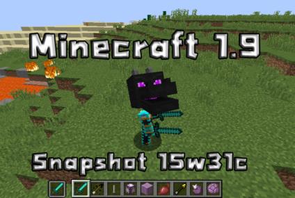 minecraft 1.9 Snapshot 15w31c