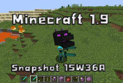 Minecraft snapshot 15w36a 15w36b 15w36c 15w36d