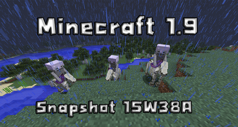 Minecraft snapshot 15w38a