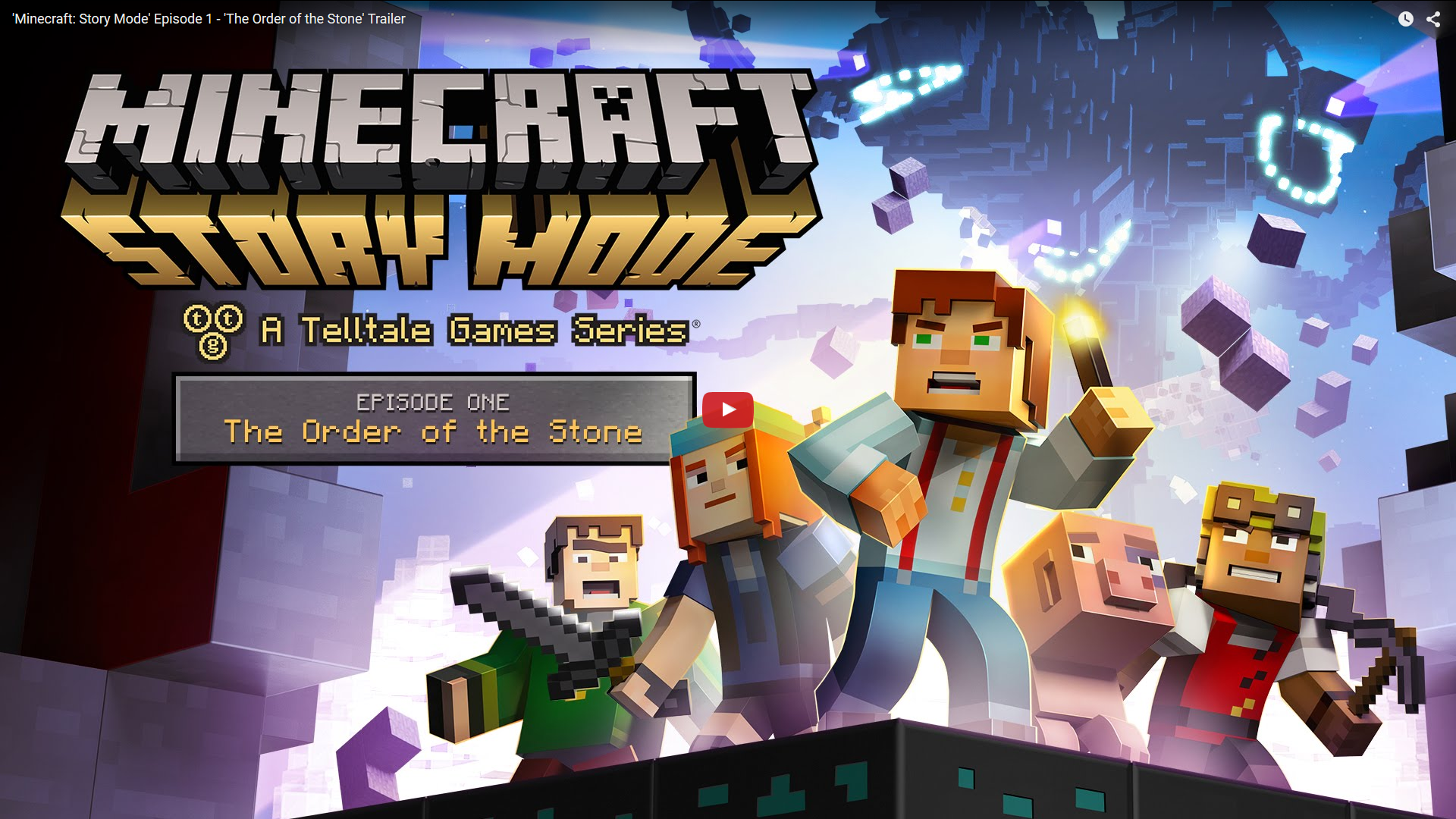 Trailer Minecraft: Story Mode Episode 1 – 'The Order of the Stone'