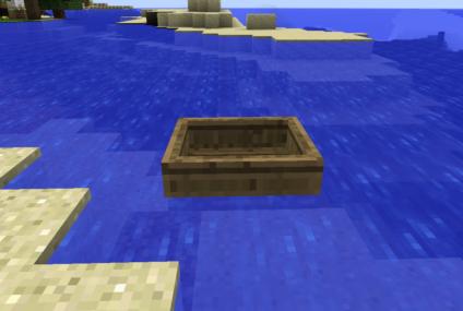 boats เรือ ในเกมมายคราฟ