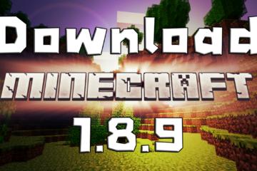 download minecraft 1.8.9 Thai ดาวน์โหลด มายคราฟ 1.8.9 ไทย