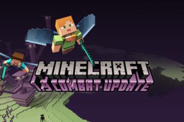 Minecraft 1.9 ออกแล้ว อัพเดทเกียวกับการต่อสู้