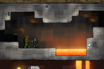 จะเกิดอะไรขึ้นถ้ามายคราฟที่เราเล่นอยู่กลายเป็นแนว 2D ?… Minecraft 2D world