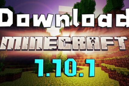 download minecraft 1.10.1 ดาวน์โหลด มายคราฟ 1.10.1
