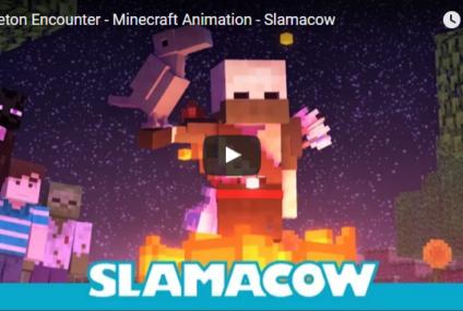 Skeleton Encounter – Minecraft Animation – Slamacow