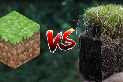 ของในเกม Minecraft vs ของในโลกแห่งความจริง Real Life