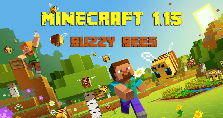 MINECRAFT 1.15 Buzzy Bees